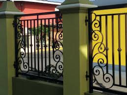 simple wrought iron fence. Wrought Iron Fence By Kurv Metal Designs Limited Simple Wrought Iron Fence