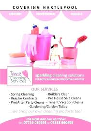 Housekeeping Flyers Templates Free Cleaning Flyer Templates House Or Business With Regard To