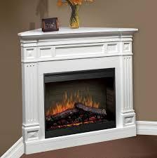 corner fireplace electric heater