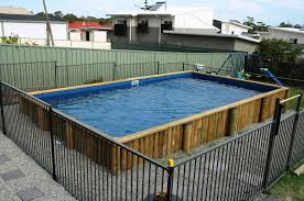 In Ground Pools Rectangle Rectangular Above Ground Pools Ideas In