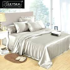 silk duvet covers pure mulberry cover seamless luxury solid color twin full queen velvet king