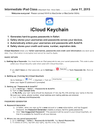 Icloud Security Code Icloud Keychain Manualzz Com