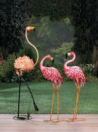 standing flamingo garden decor pier 1