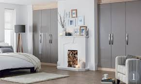 Nice Accent Truffle Gloss Fitted Bedroom From The Schreiber Fitted Furniture  Range At Homebase