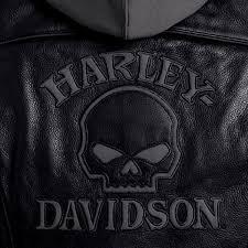 womens harley davidson leather jacket photo