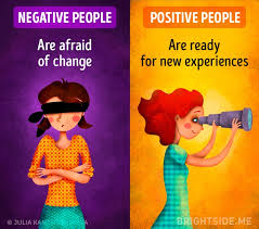 here s the real difference between a negative and a positive here s the real difference between a negative and a positive attitude to life