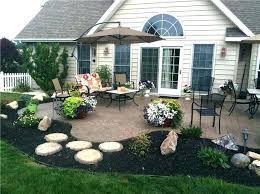 stamped concrete patio mason seating walls and columns ideas t81 patio