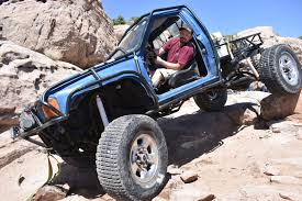 2nd gen Toyota Pickup Rock crawler at Area BFE in Moab, Utah Solid ...