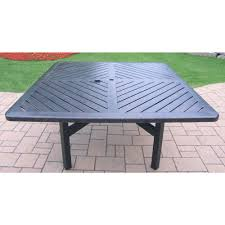 aluminum dining sets patio furniture. hampton bay - patio tables furniture the home depot vanguard aluminum square dining table sets y