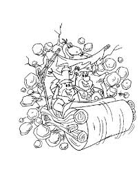 Small Picture Printable Flintstones Coloring Pages Cartoon Coloring pages of