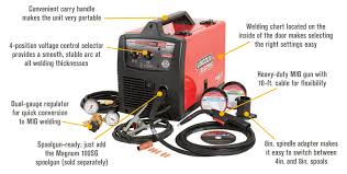 shipping lincoln electric easy mig flux core mig welder features for shipping lincoln electric easy mig 140 flux core mig welder