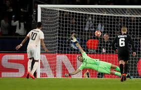 Image result for rashford penalty psg