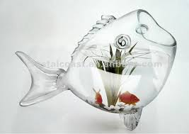 Decorative Glass Jars Wholesale Wholesale Decorative Glass Jars Fish Shape Figurines Goldfish Jar 40