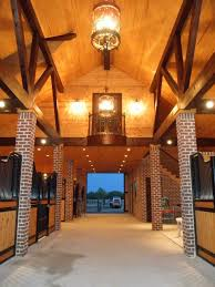 love the brick columns a big thanks to jim benson custom homes for their photos of this lovely barn recently completed using classic equine equipment s