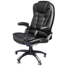 massage chair sears. executive ergonomic pu leather heated vibrating massage office chair - black sears t