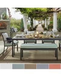 metal outdoor patio furniture. matira metal outdoor 84-inch rectangular dining set inspire q oasis ([5pc set patio furniture u