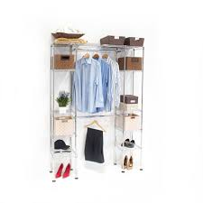 closetmaid organizers shelf organizer seville classics expandable closet organizer