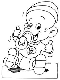 Baby Fles Kleurplaat Andsteamlive