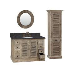 single quot bathroom vanity antique infurniture  recycled fir quot bathroom vanity with black marble count