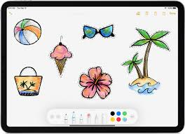 Drawing On Ipad Pro Use Apple Pencil With Your Ipad Or Ipad Pro Apple Support