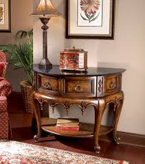 butler specialty connoisseur s demilune console table