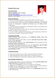 Sample Of Experience Resume Free Resume Example And Writing Download