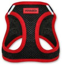Voyager Harness Size Chart Voyager All Weather No Pull Step In Mesh Dog Harness With Padded Vest Best Pet Supplies Extra Large Red