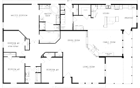 4 bedroom floor plan. Contemporary Floor 4 Bedroom 2 Bath Floor Plans Photos And Video WylielauderHousecom  Ranch On Bedroom Floor Plan
