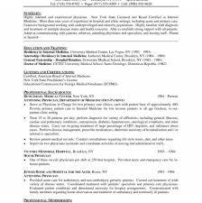 Sample Medical School Resume Medical School Resume Example Sample Curriculum Vitae Doctor Http 28