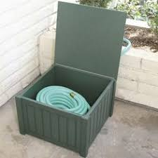 garden hose box. DIY - Outdoor Lawn Gardening Water Hose Holder Stand: Make From PVC Sewer Pipe! | My Style Pinterest Holder, And Garden Box