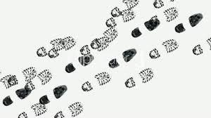 Image result for running footprints
