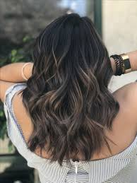 Perfect Dark Ash Brown Balayage With