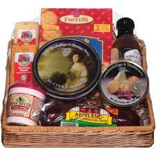 deli direct wisconsin cheese sausage um gift basket 9 pc basket walmart