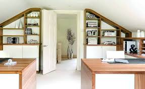 office arrangements ideas. Home Office Arrangements Ideas This Loft Conversion Features A Set Up With Built In Shelving From Design Storage For Furnit E