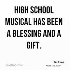 Quotes About High School Enchanting Zac Efron Quotes QuoteHD