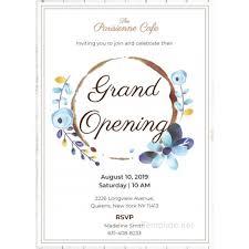 Beautiful Grand Opening Invitation Templates Ideas Mericahotel