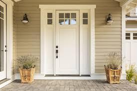 front door. Getting A New Front Door D