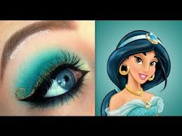 disney s princess jasmine makeup tutorial