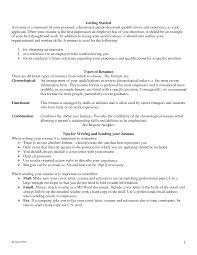 Job Skills Examples For Resume Resume Samples