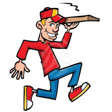 pizza delivery clipart. Unique Delivery On Pizza Delivery Clipart A
