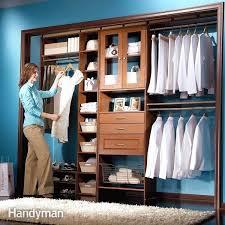build your own closet build closet in basement making closet shelves mdf