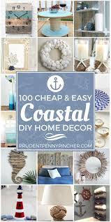 100 and easy coastal diy home decor ideas