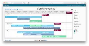 Project Roadmap Templates Sprint Roadmap Template Technology Roadmap Research