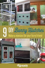 9 diy rabbit hutch ideas using upcycled furniture see more at s