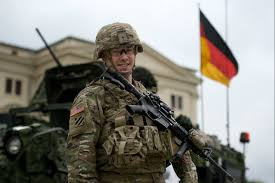 us army almost half of germans want us army to leave the country
