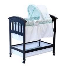 wooden cradle bassinet white wood wooden cradle