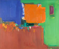 hans hofmann indian summer 1959 oil on canvas 60 1 8 x 72 1 4 in university of california berkeley art museum and pacific archive