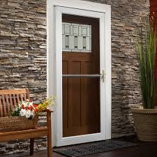 Exterior: Security Storm Doors At Lowes | Lowes Storm Doors | Double ...