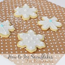 christmas snowflake cookies. Beautiful Cookies How To Ice And Frost Sugar Cookie Snowflakes For Beginners With Christmas Snowflake Cookies G