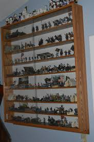 ... Custom Wall Mounted Display Cases For Collectibles Pics With Marvelous Display  Shelves Collectibles Vintage Wood Wall